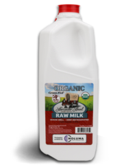 Half Gallon Organic Raw Cow Milk