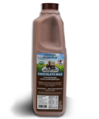 One Quart Organic Chocolate Whole Non-Homogenized Cow Milk