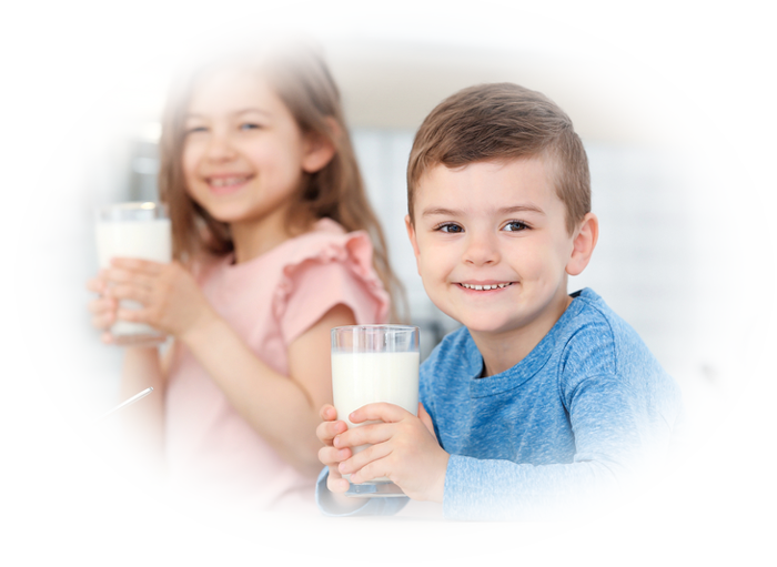 Kids Love Organic Milk