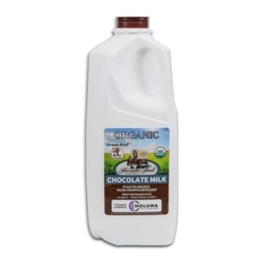 Half Gallon Organic Chocolate Whole Non-Homogenized Cow Milk