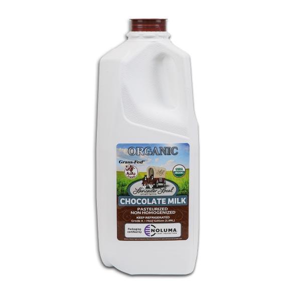 Half Gallon Organic Chocolate Whole Non-Homogenized Cow Milk