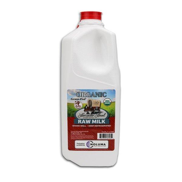 Half Gallon Organic Raw Cow Milk