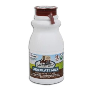 Half Pint Organic Chocolate Whole Non-Homogenized Cow Milk